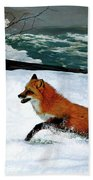 Winslow Homer's, 1893 ' The Fox Hunt ', Revisited 2016 Bath Towel