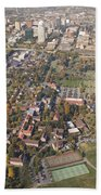 Winston Salem Nc From Above Hand Towel
