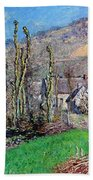 Winter At The Val De Falaise Hand Towel