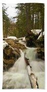 Winter Falls Bath Towel