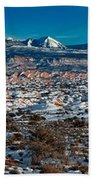 Winter In Arches National Park Bath Towel