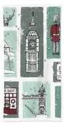 Winter In London Bath Towel