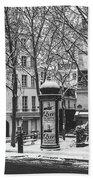 Winter In Paris Bath Towel