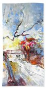 Winter In Spain Bath Towel