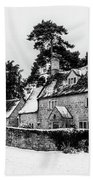 Winter In The Cotswolds Hand Towel