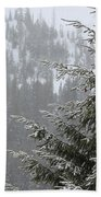 Winter In The Forest Bath Towel