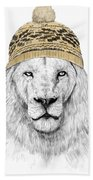 Winter Is Coming Hand Towel by Balazs Solti