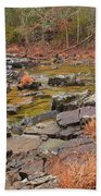 Winter Morning On Marble Creek 1 Bath Towel
