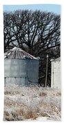 Winter On The Prairie Number 1 Bath Towel