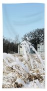 Winter On The Prairie Number 2 Hand Towel