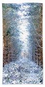 Winter Path Bath Towel