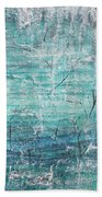 Winter Scene Portrait Bath Towel by Jocelyn Friis