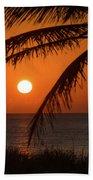Winter Solstice Sunrise 2 Delray Beach, Florida Bath Towel
