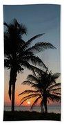 Winter Solstice Sunrise Delray Beach Florida Bath Towel