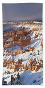 Winter Sunrise Bryce Canyon National Park Utah Bath Towel