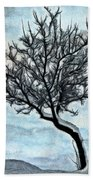 Winter Tree II Bath Towel