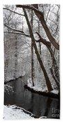 Winter Walk In The Woods Bath Towel