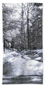 Winter's Gates Bath Towel