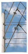 Wired Sky Bath Towel