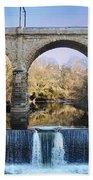 Wissahickon Viaduct Bath Towel