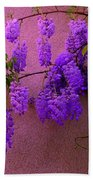 Wisteria At Sunset Bath Towel