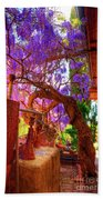 Wisteria Canopy In Bisbee Arizona Bath Towel