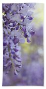 Wisteria's Soft Floral Whispers Bath Towel