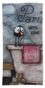 With Love Hand Towel