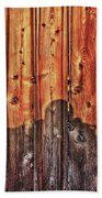 Within A Wooden Fence Bath Towel