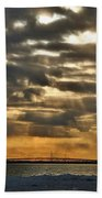Wny Spring Sunset Hand Towel