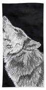 Wolf Howl Bath Towel
