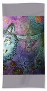 Wolf Protector Bath Towel