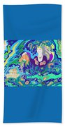 Woman With Fish Hand Towel