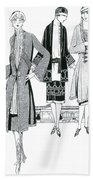 Womens Fashion, 1926 Bath Towel