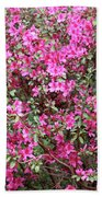 Wonderful Pink Azaleas Bath Towel