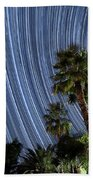 Wonky Star Trails Hand Towel