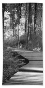 Wooded Walk Bath Towel