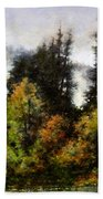 Woodland Bottoms In April Hand Towel