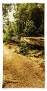 Woodland Nature Walk Bath Towel