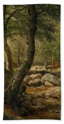 Woodland Stream Bath Towel