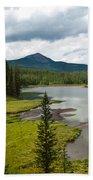 Wood's Lake Summer Landscape Bath Towel