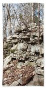 Woods Of Lake Guntersville Hand Towel