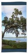 Woodstorks At Oak Grove Island Hand Towel