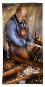 Woodworker - The Carpenter Bath Towel