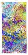 Work 00101 Abstraction Bath Towel