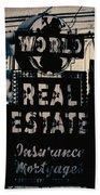 World Real Estate Chicago Bath Towel
