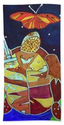 World Turtle King Of Swords Hand Towel