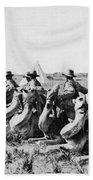 World War I: Camel Corps Bath Towel