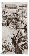 World War I: Plane Repair Bath Towel