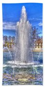 World War II Memorial Bath Towel